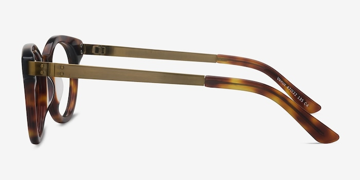 Venus Brown Tortoise Acetate Eyeglass Frames from EyeBuyDirect, Side View
