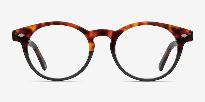 Concept Fire Stone Acetate Eyeglass Frames from EyeBuyDirect, Front View
