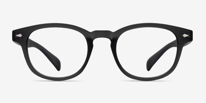 3c2ff03db15 Atomic Matte Gray Plastic Eyeglass Frames from EyeBuyDirect