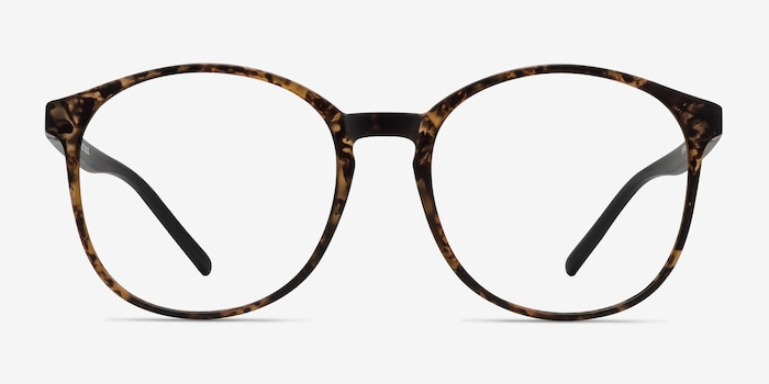 Days Matte Floral Plastic Eyeglass Frames from EyeBuyDirect, Front View