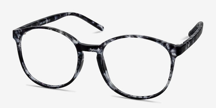 Days Floral Plastic Eyeglass Frames from EyeBuyDirect, Angle View