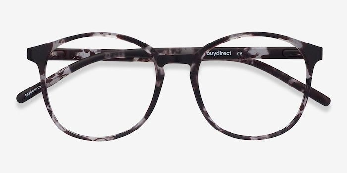Days Floral Plastic Eyeglass Frames from EyeBuyDirect, Closed View