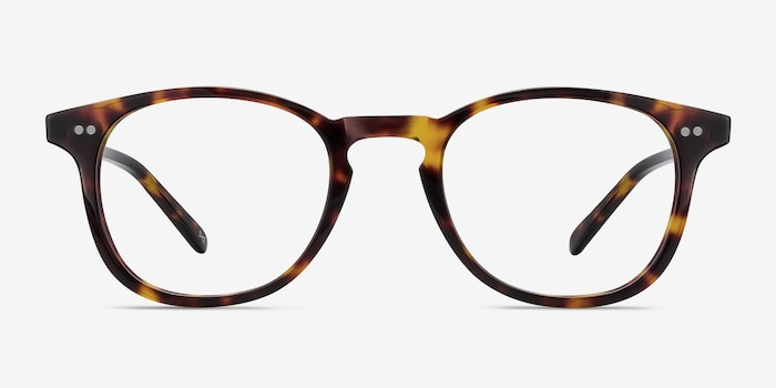 Symmetry Tortoise Acetate Eyeglass Frames from EyeBuyDirect, Front View