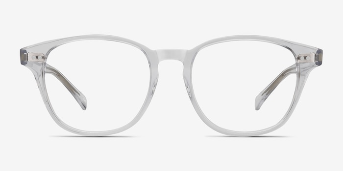 Lucid Translucent Acetate Eyeglass Frames from EyeBuyDirect, Front View