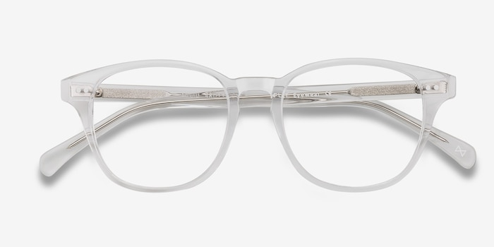 Lucid Translucent Acetate Eyeglass Frames from EyeBuyDirect, Closed View