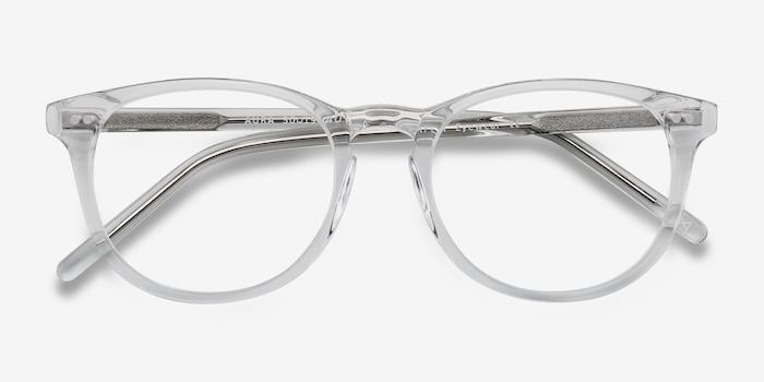 43fa4381c5 Aura Translucent Acetate Eyeglass Frames from EyeBuyDirect