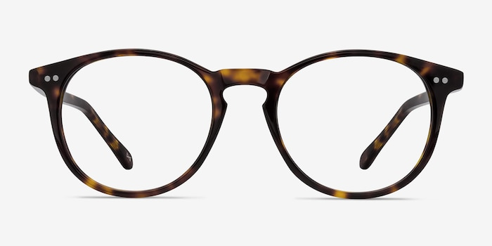 Prism Tortoise Acetate Eyeglass Frames from EyeBuyDirect, Front View
