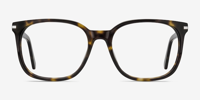 Absolutely Tortoise Acetate Eyeglass Frames from EyeBuyDirect, Front View