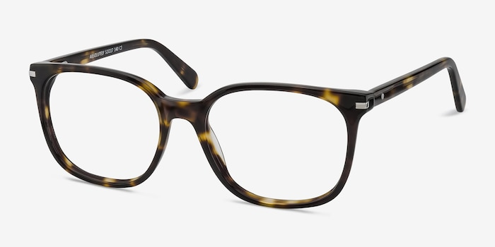 Absolutely Tortoise Acetate Eyeglass Frames from EyeBuyDirect, Angle View