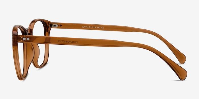 Myth Cola Plastic Eyeglass Frames from EyeBuyDirect, Side View