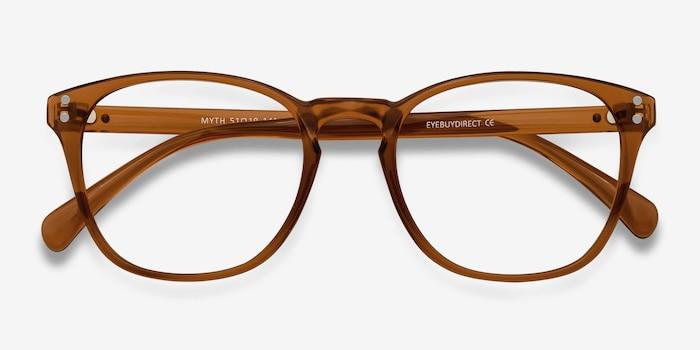 Myth Cola Plastic Eyeglass Frames from EyeBuyDirect, Closed View