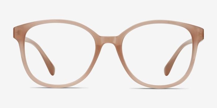 The Beat Rose Plastique Montures de Lunette de vue d'EyeBuyDirect, Vue de Face