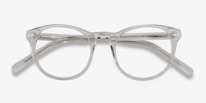 dc0c2d6c11 Primrose Clear Acetate Eyeglass Frames from EyeBuyDirect