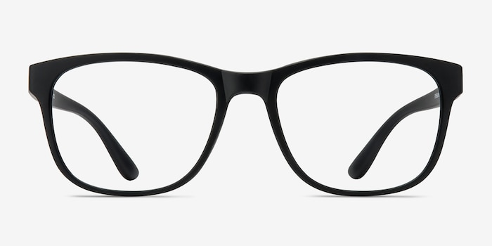 97458a9fb70 Milo Matte Black Plastic Eyeglass Frames from EyeBuyDirect