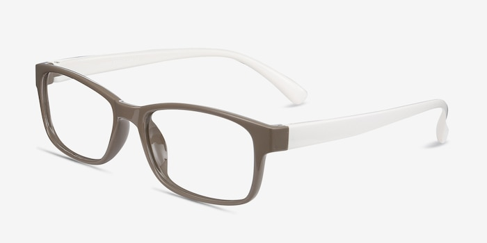 Danny Brown Plastic Eyeglass Frames from EyeBuyDirect, Angle View