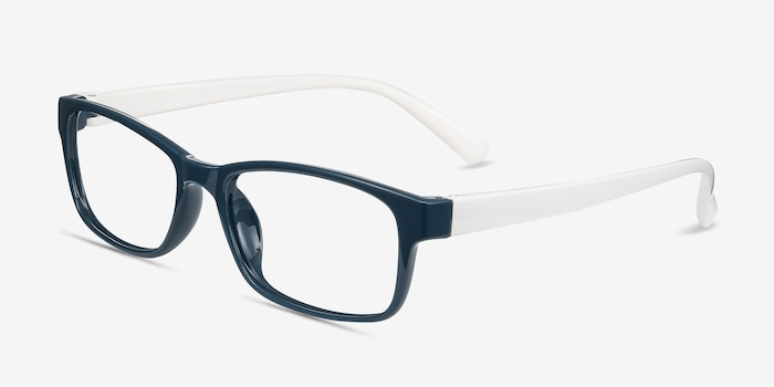 Danny Green Plastic Eyeglass Frames from EyeBuyDirect, Angle View