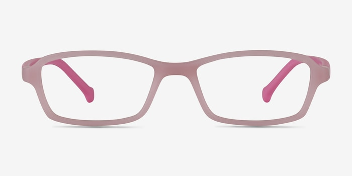Nimbus Pink Plastic Eyeglass Frames from EyeBuyDirect, Front View
