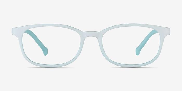 Bound Vert Plastique Montures de Lunettes d'EyeBuyDirect, Vue de Face