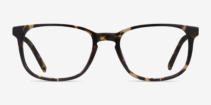 Emblem Tortoise Acetate Eyeglass Frames from EyeBuyDirect, Front View