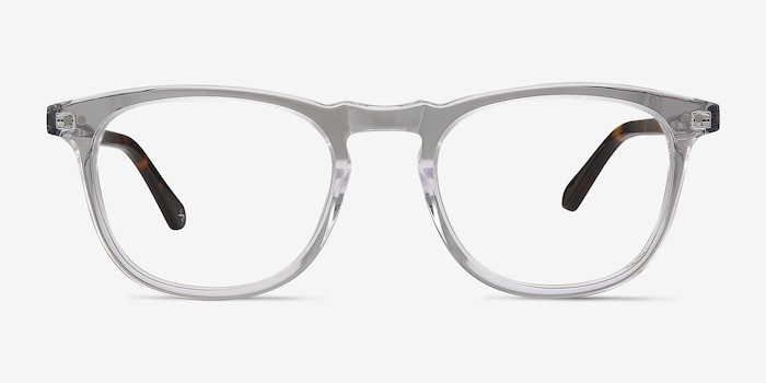 Illusion Translucent Acetate Eyeglass Frames from EyeBuyDirect, Front View