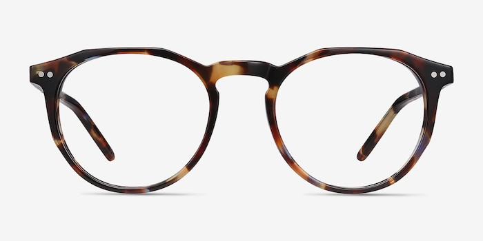 Planete Floral Acetate Eyeglass Frames from EyeBuyDirect, Front View