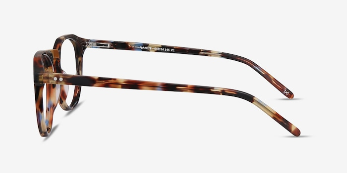 Planete Floral Acetate Eyeglass Frames from EyeBuyDirect, Side View