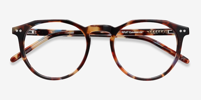 Planete Floral Acetate Eyeglass Frames from EyeBuyDirect, Closed View