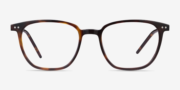 Regalia Tortoise Acetate Eyeglass Frames from EyeBuyDirect, Front View