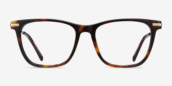 Sebastian Tortoise Acetate Eyeglass Frames from EyeBuyDirect, Front View