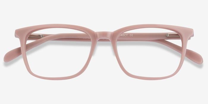 Etched Rose Acétate Montures de Lunettes d'EyeBuyDirect, Vue Rapprochée