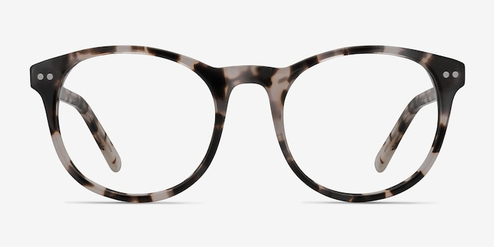 Primrose Ivory Tortoise Acetate Eyeglass Frames from EyeBuyDirect, Front View