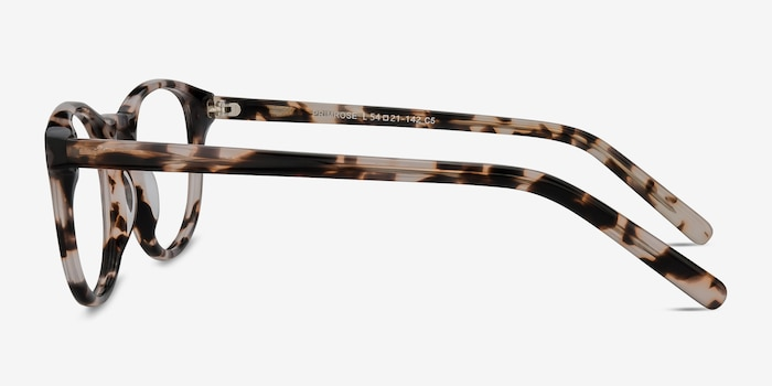 Primrose Ivory Tortoise Acetate Eyeglass Frames from EyeBuyDirect, Side View