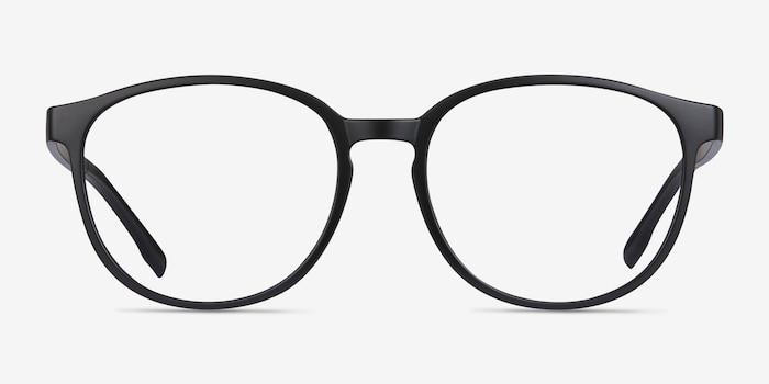 Shifter Noir Plastique Montures de Lunettes d EyeBuyDirect, Vue de Face b2ed844a9c7a