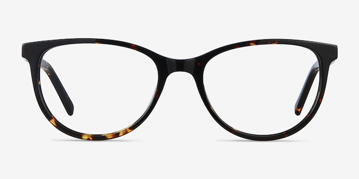 Sphinx Tortoise Acetate Eyeglass Frames from EyeBuyDirect, Front View