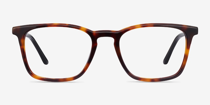 Phoenix Tortoise Acetate Eyeglass Frames from EyeBuyDirect, Front View