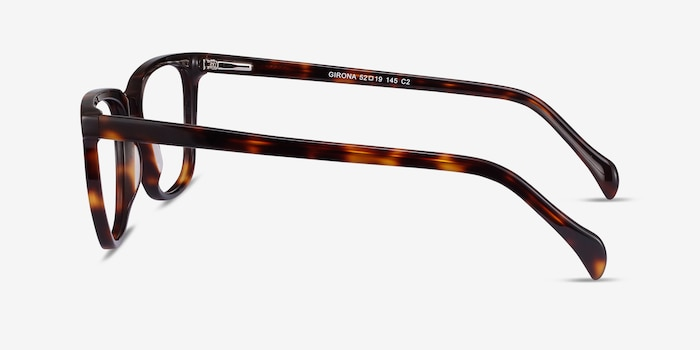 Girona Tortoise Acetate Eyeglass Frames from EyeBuyDirect, Side View
