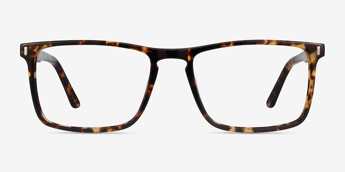 Arise Tortoise Acetate Eyeglass Frames from EyeBuyDirect, Front View