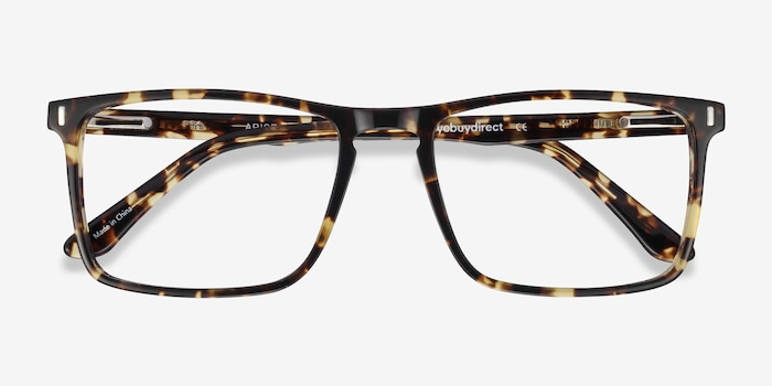 Arise Tortoise Acetate Eyeglass Frames from EyeBuyDirect, Closed View