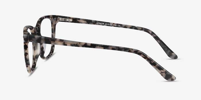 Honor Gray Tortoise Acetate Eyeglass Frames from EyeBuyDirect, Side View