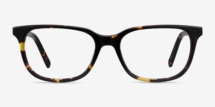 Peruse Tortoise Acetate Eyeglass Frames from EyeBuyDirect, Front View