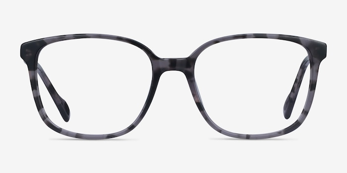 Joanne Gray Tortoise Acetate Eyeglass Frames from EyeBuyDirect, Front View