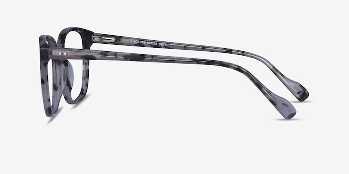 Joanne Gray Tortoise Acetate Eyeglass Frames from EyeBuyDirect, Side View