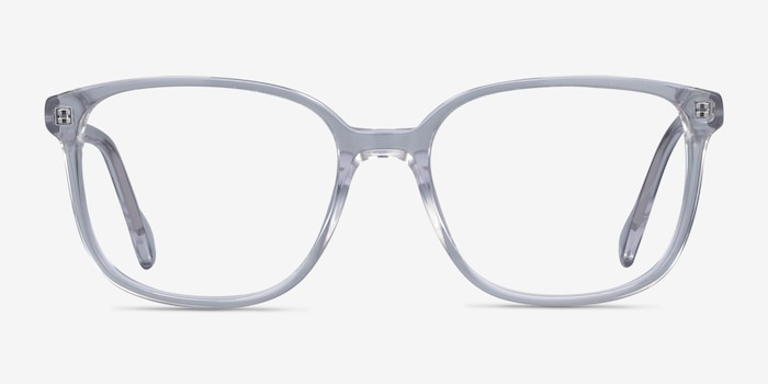 Joanne Clear Acetate Eyeglass Frames from EyeBuyDirect, Front View