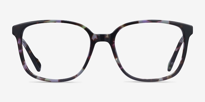 Joanne Floral Acetate Eyeglass Frames from EyeBuyDirect, Front View