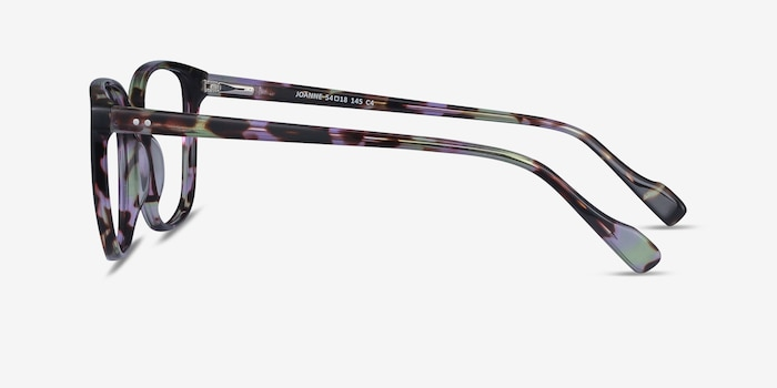 Joanne Floral Acetate Eyeglass Frames from EyeBuyDirect, Side View