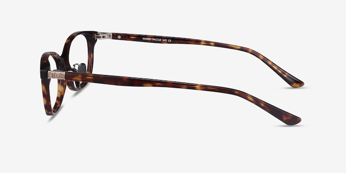 Mabel Tortoise Acetate Eyeglass Frames from EyeBuyDirect, Side View