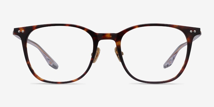 Follow Tortoise Acetate Eyeglass Frames from EyeBuyDirect, Front View