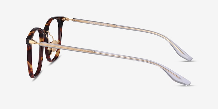 Follow Tortoise Acetate Eyeglass Frames from EyeBuyDirect, Side View