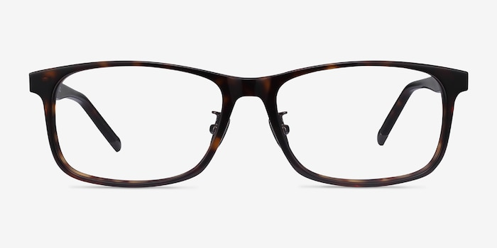 Calling Tortoise Acetate Eyeglass Frames from EyeBuyDirect, Front View