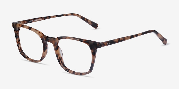 Gabor Tortoise Acetate Eyeglass Frames from EyeBuyDirect, Angle View